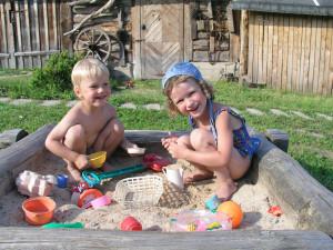 Игры в песочнице развивают фантазию