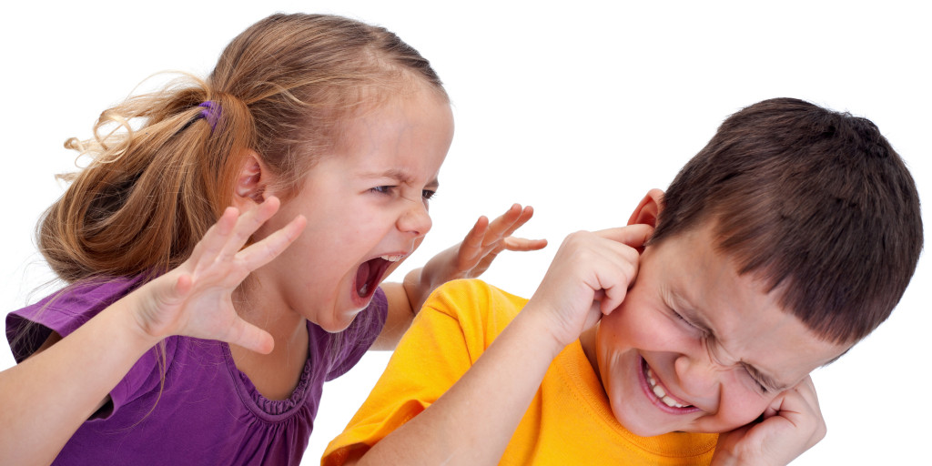 Нервный агрессивный ребёнок