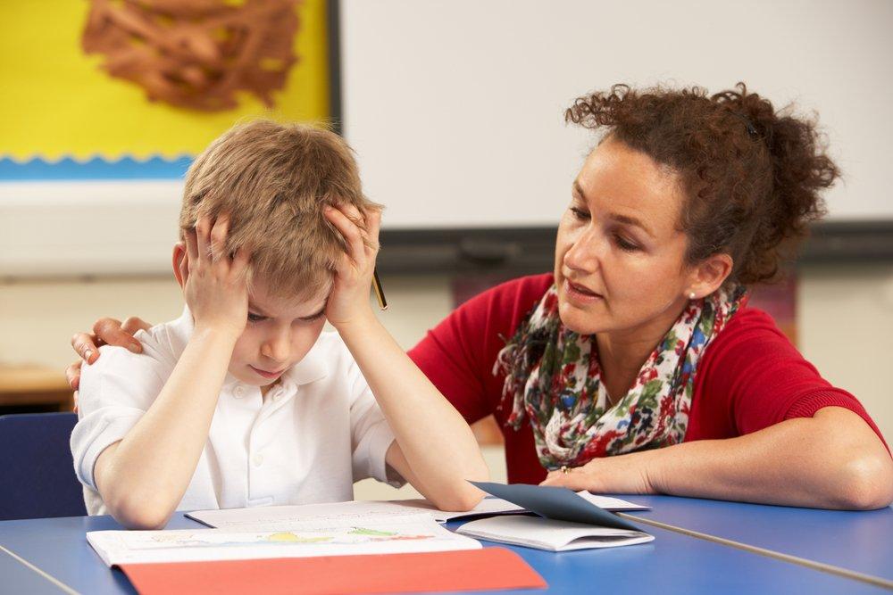 Раздражительный ребёнок на приёме у психолога