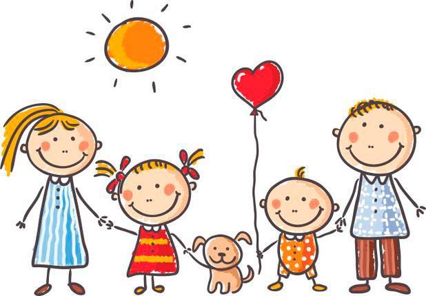 Крепкая счастливая семья