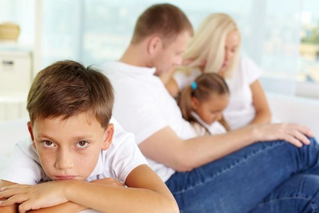 Дети изгои в семье