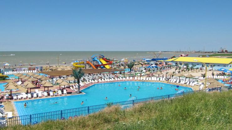 Аквапарк в городе Ейск на Азовском море