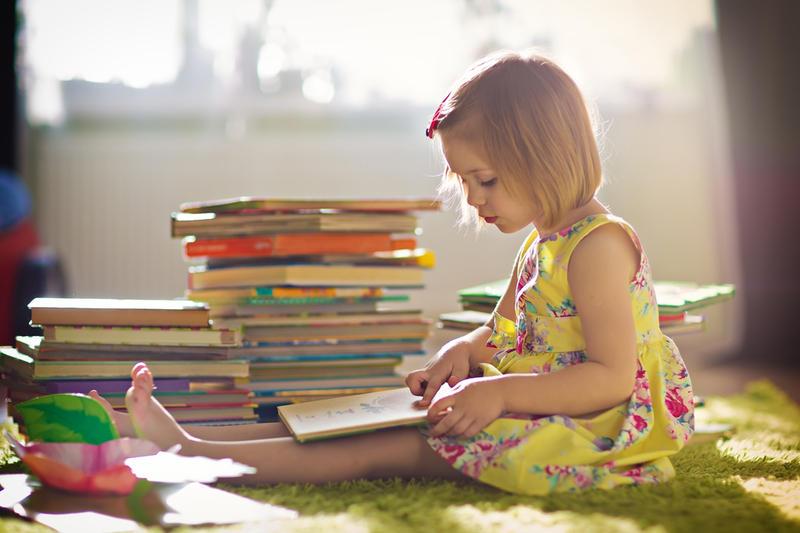 Интерес к чтению развивается в игровой форме