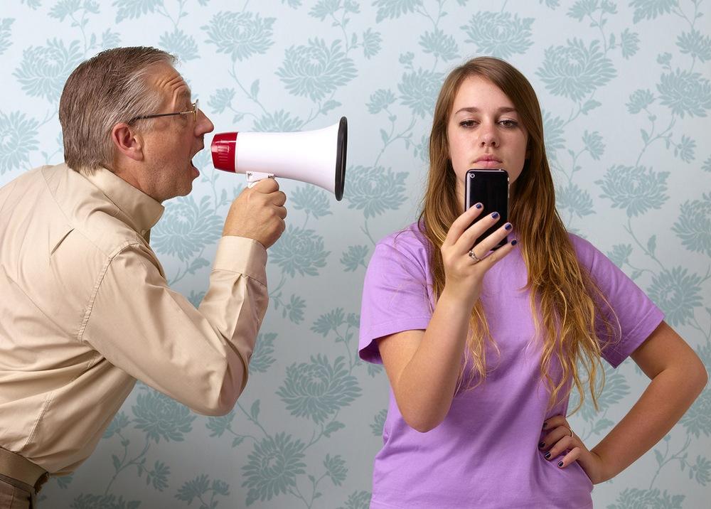 Конфликты с родителями