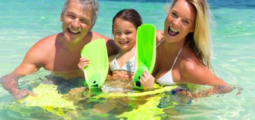 Семейный отдых на море укрепляет здоровье и семью