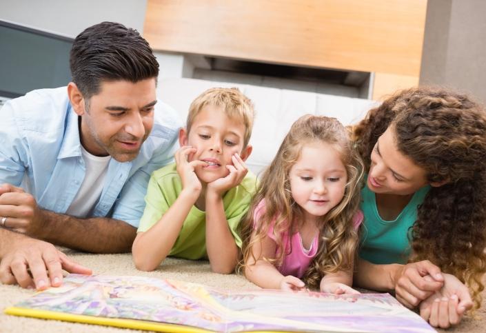 Семейное чтение развивает интерес к нему у детей