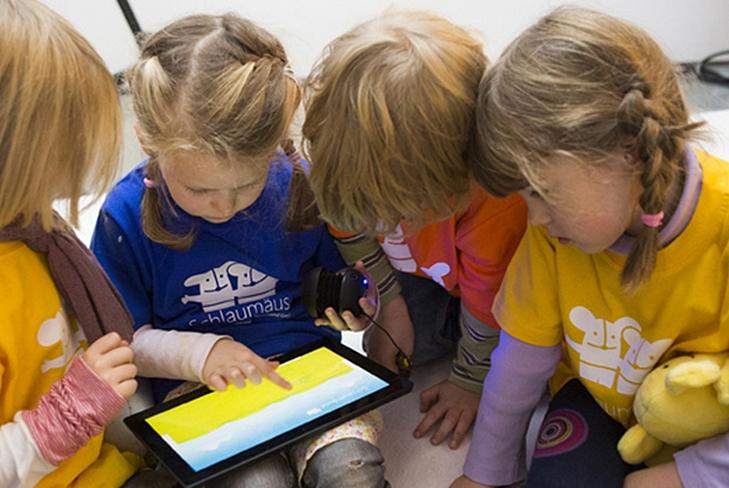 Дети и планшет