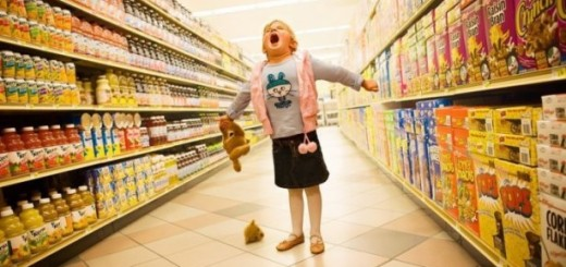 Истерика в магазине