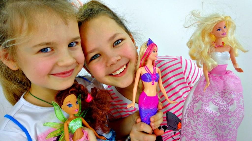 Куклы Барби и девочки