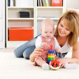 Развивающие занятия с маленькими детьми от 1 года до 3 лет
