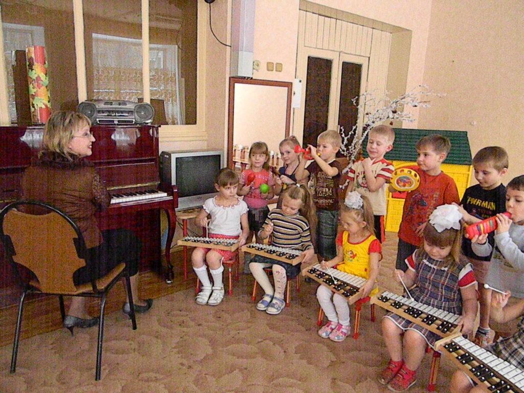 Музыкальное занятие