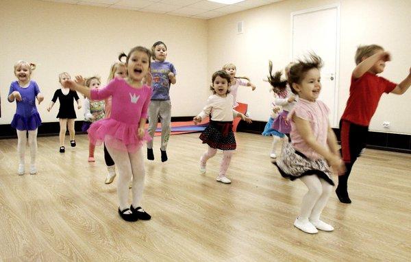 Танцы для маленьких