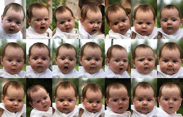 Эмоции новорожденного