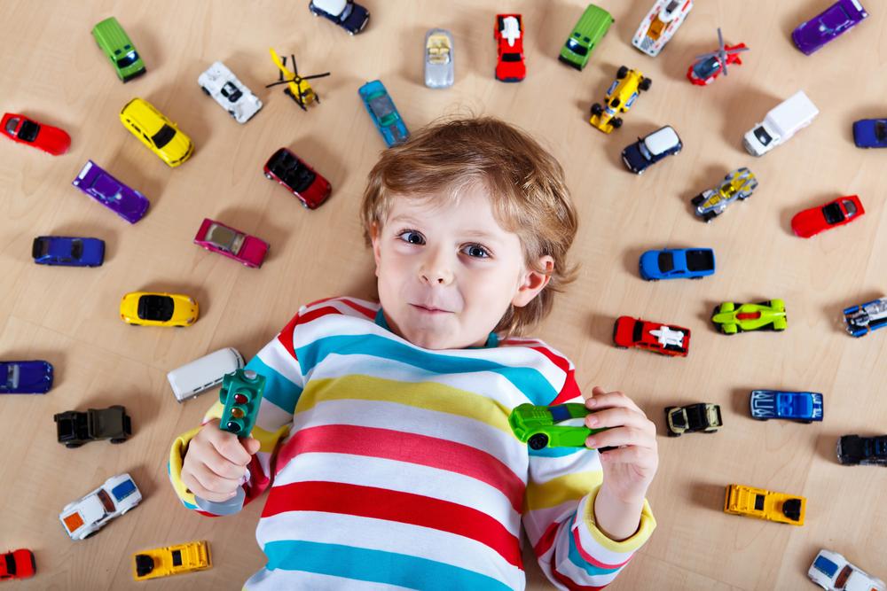 Изобилие игрушек