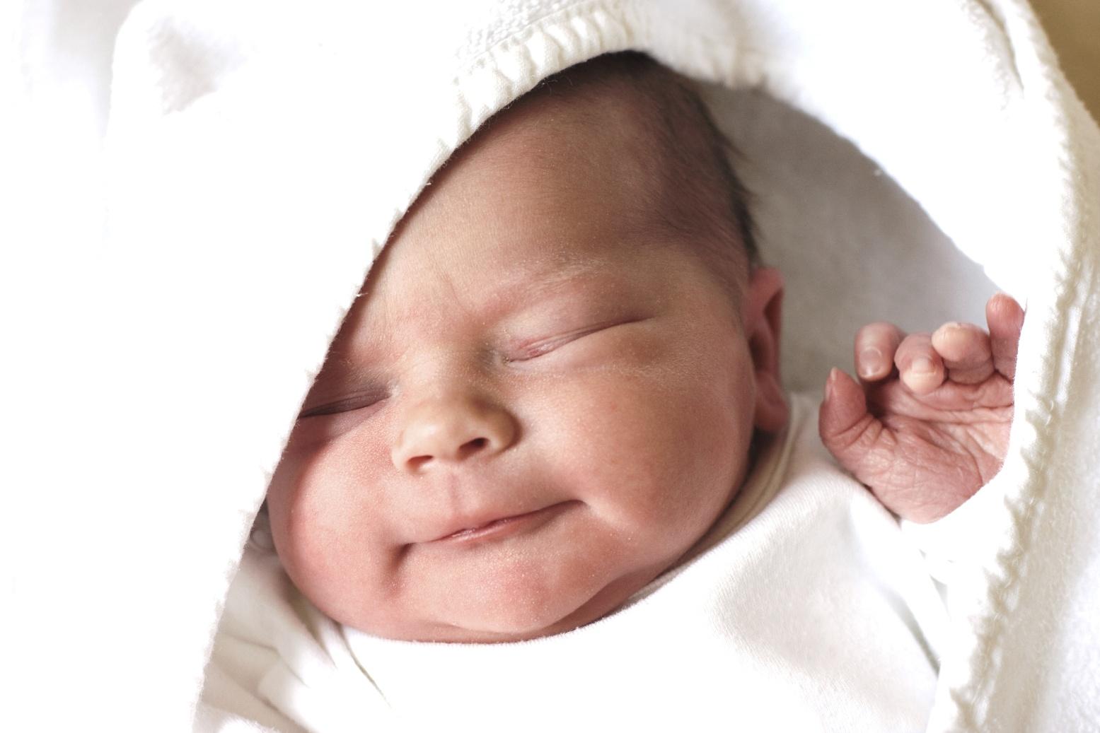 Фото ребенка 5 дней