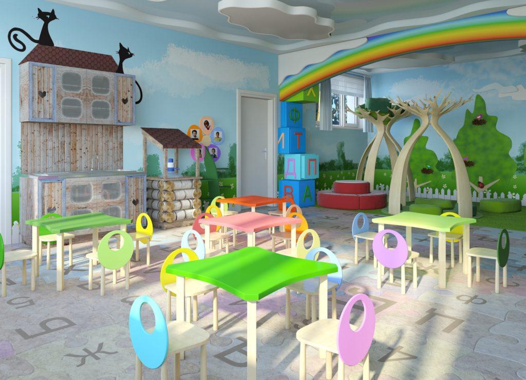 Помещение детского сада