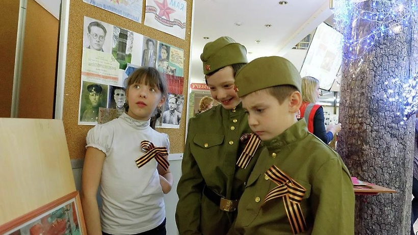 Посещение музея в День Победы