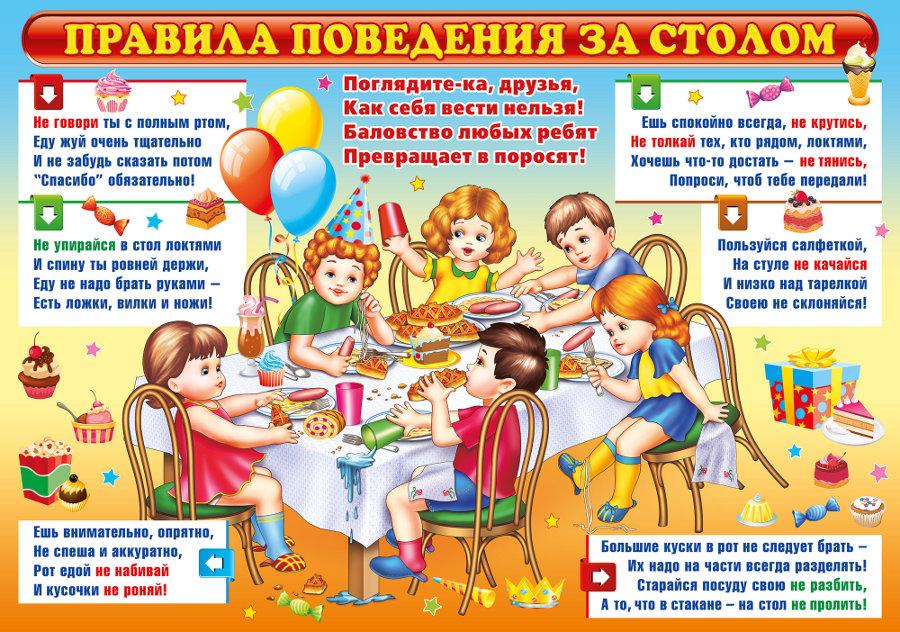 правила этикета при знакомстве у детей