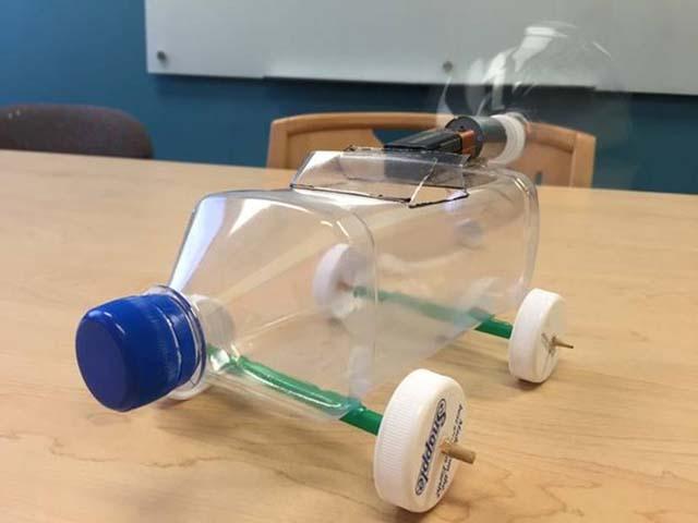 Самодельные роботы игрушки для детей своими руками