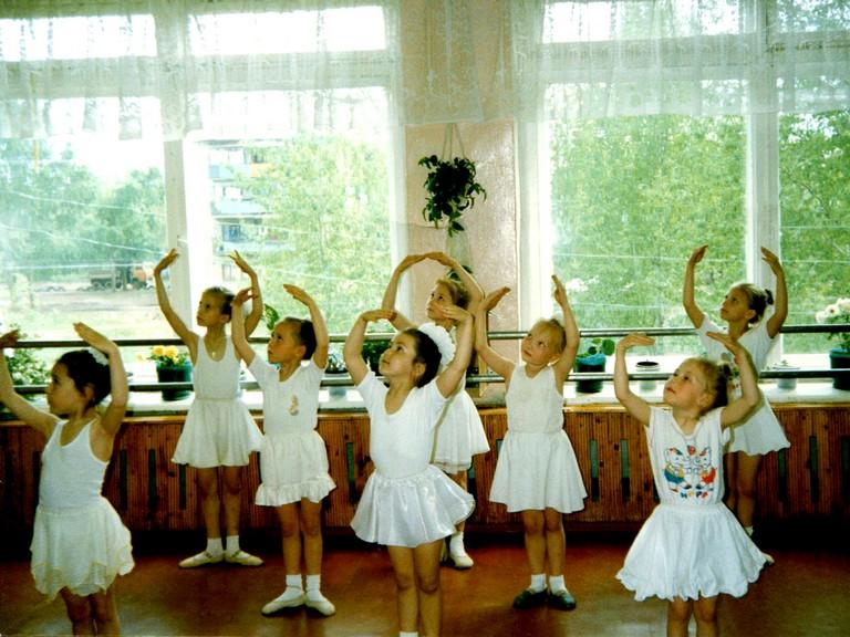 Занятие танцами