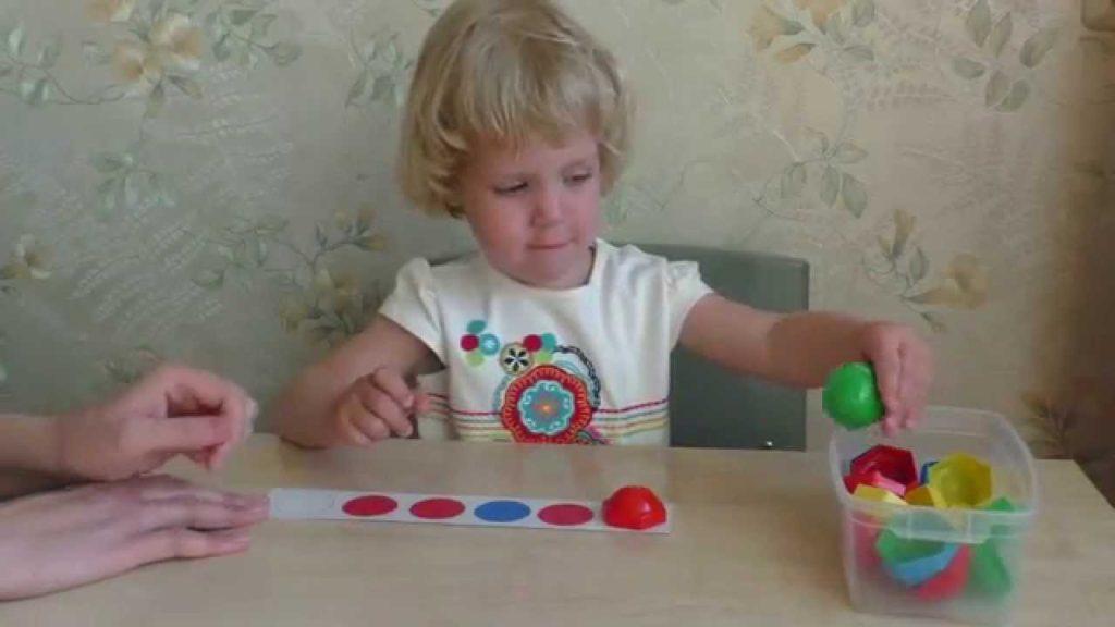 Занятия с малышом 3-х лет