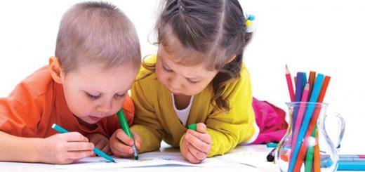 Чем занять детей в 3-4 года