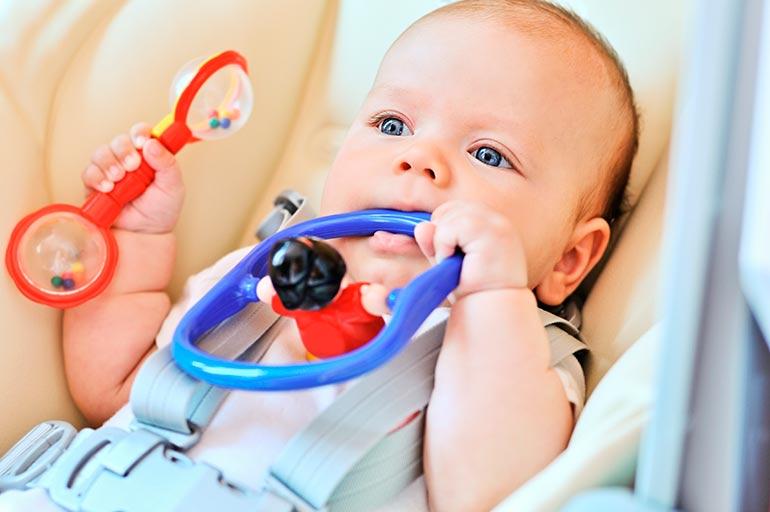 Малыш в 3 месяца