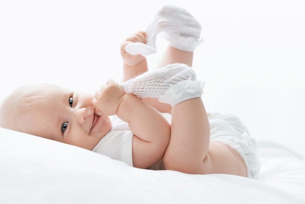 Малыш в 4 месяца