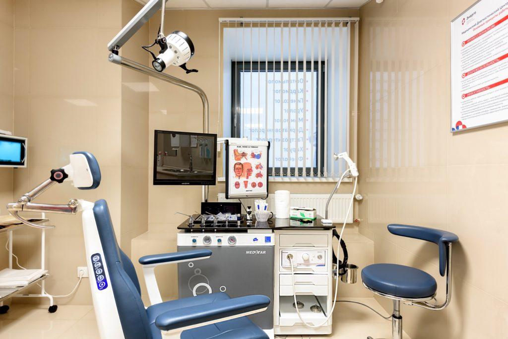 Кабинет в центральном отделении клиники