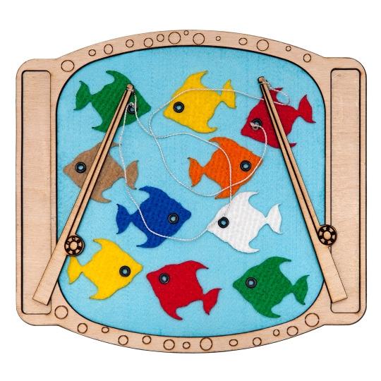 """Игра """"Поймай рыбки"""""""