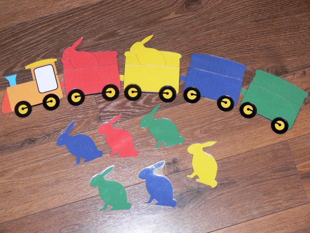 Посади зайчика в вагон