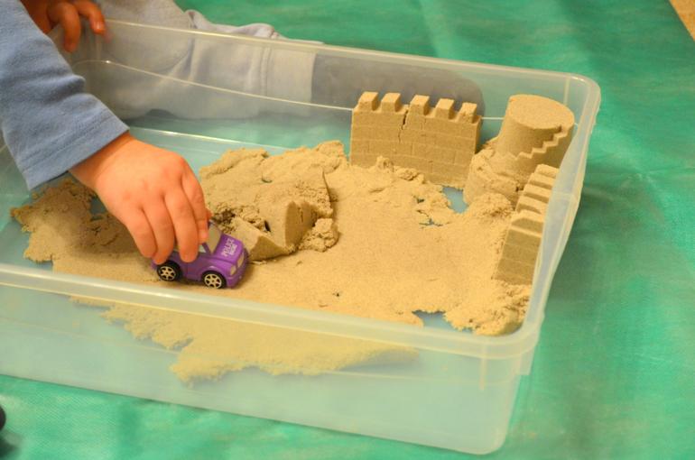 Игра с песком