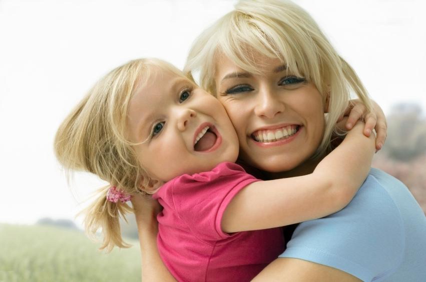 В 5 лет для ребенка мама самая красивая