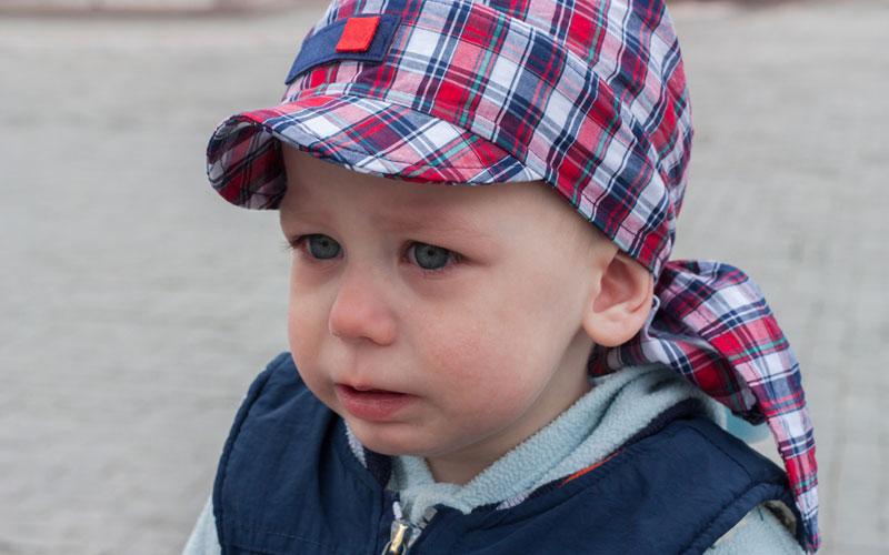 Плач у ребенка
