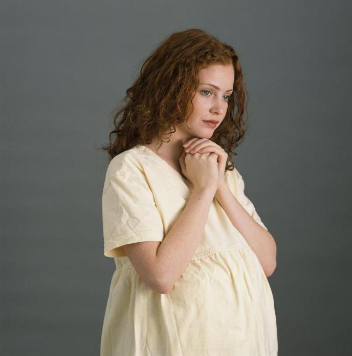 Беременная крестная