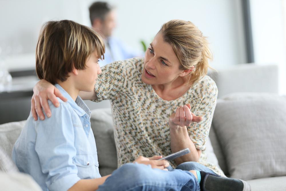 Беседа с ребенком против агрессии