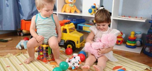 Возраст детей от 1 до 3-х лет