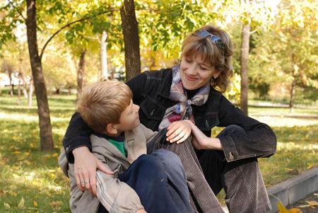 Доверительные отношения с мальчиком