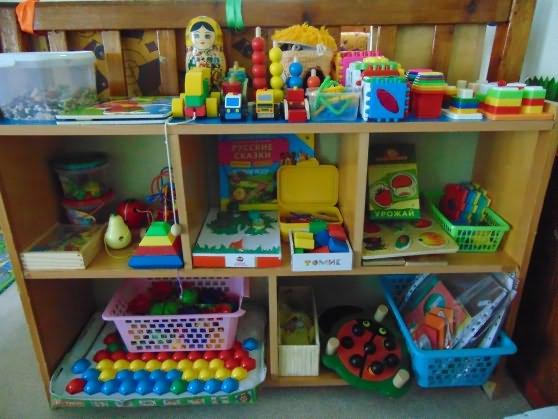 Уголок для игрушек