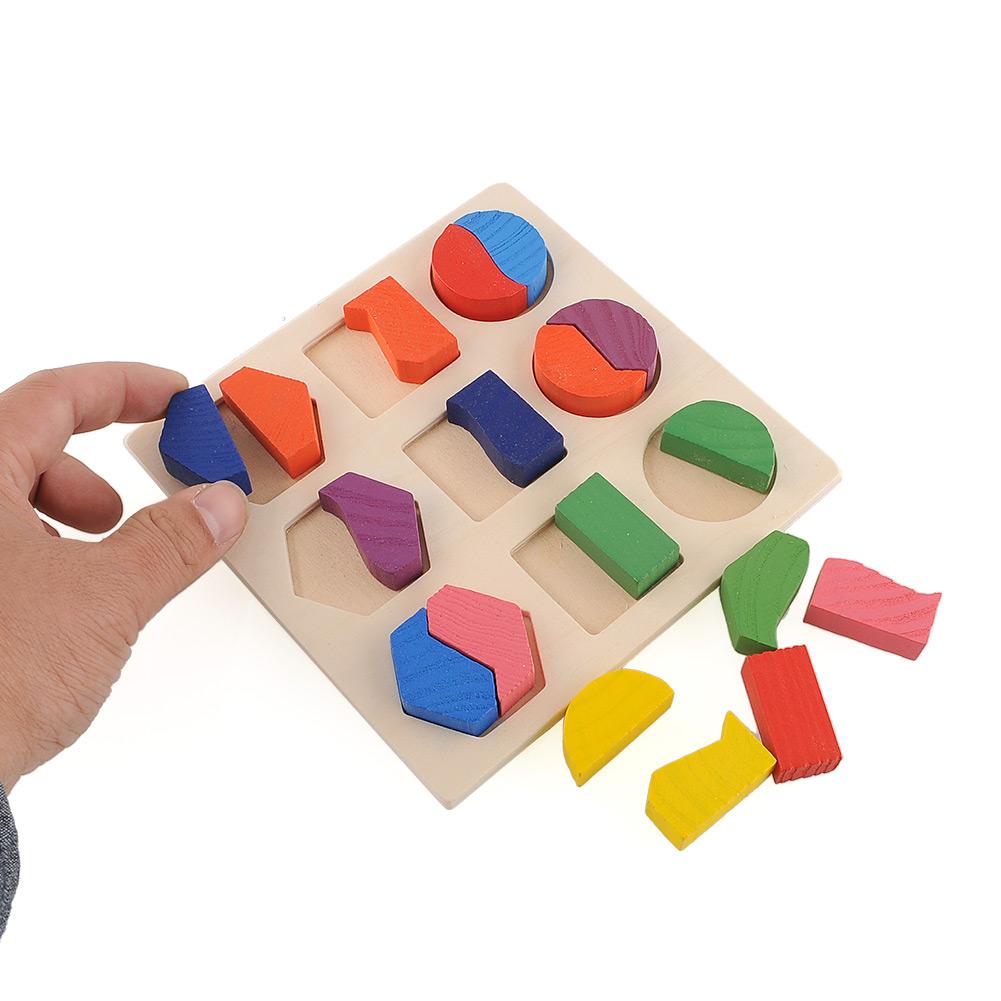 Геометрия Монтессори с фигурами