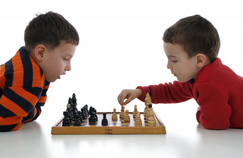 Развитие логики - игра в шахматы