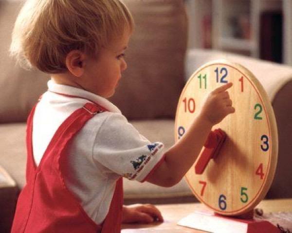 Играя, учим время