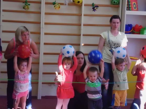 Занятия физкультурой детей