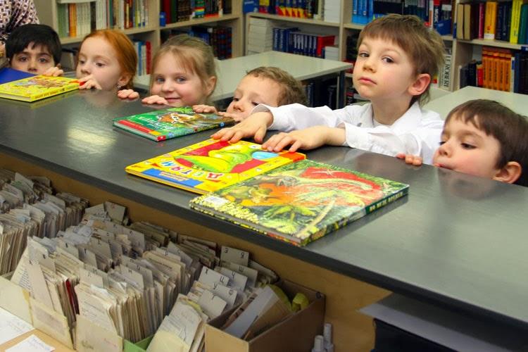 Дети в библиотеке открывают мир