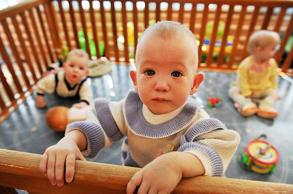 Дети в детдоме скоро отучаются плакать