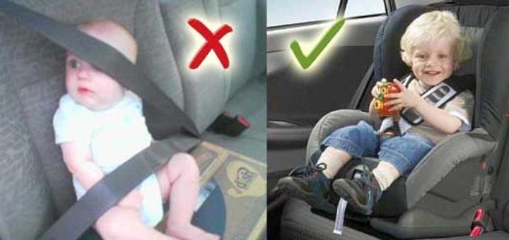 Если ребенок без автокресла сколько штраф вероятно