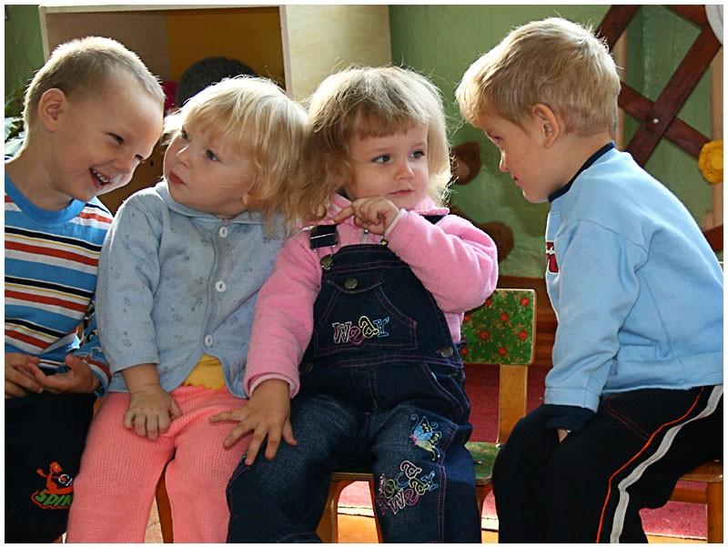 Коммуникация детей дошкольного возраста