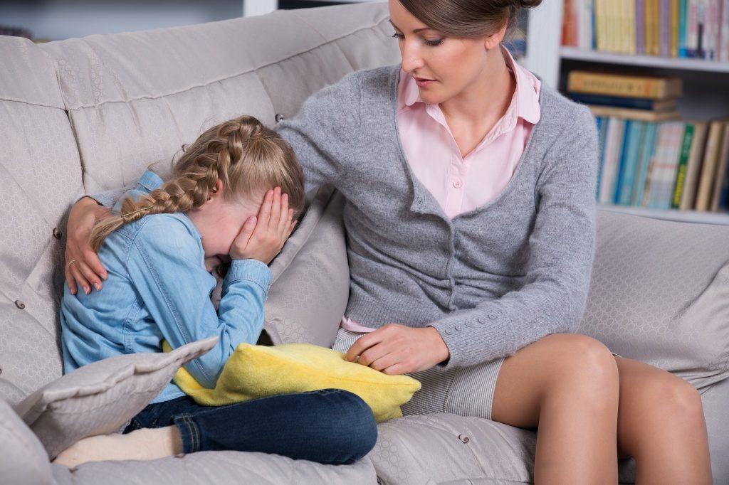 Реакция родителей при плаче ребенка