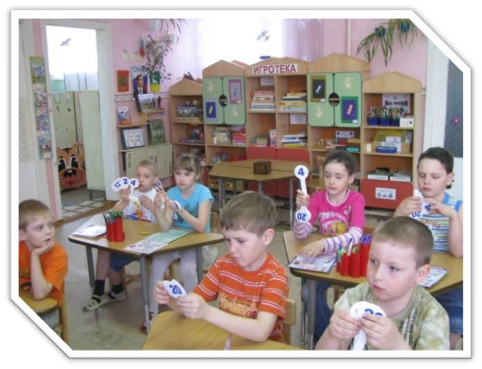 Теория и методика математического развития детей дошкольного возраста
