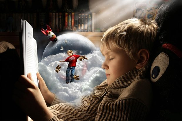 Чтение книг и воображение